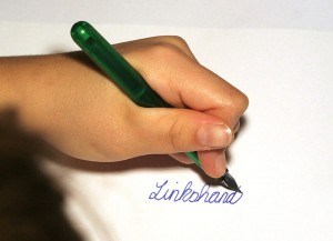 A note to parents of left-handed children