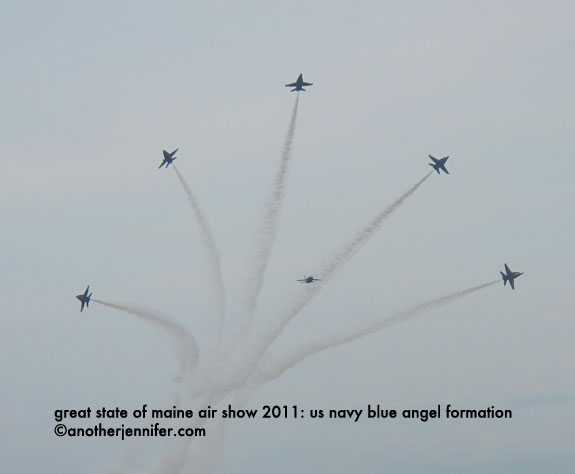 us blue angels formation