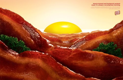 Oscar Mayer Bacon Art