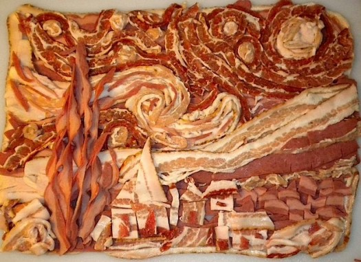 Bacon Starry Night