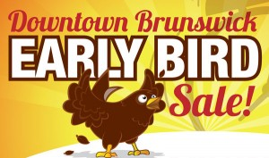 Buy Local, Buy Downtown Brunswick This Saturday