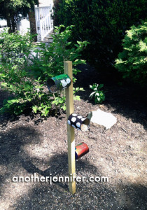 Pinterest-Inspired DIY Recycled Bird Feeder. Sort of.