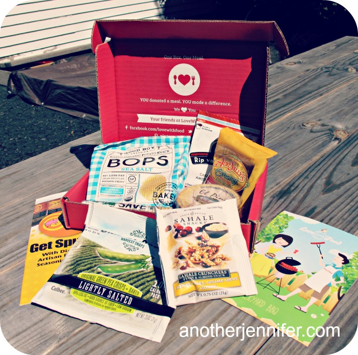 love with food august box