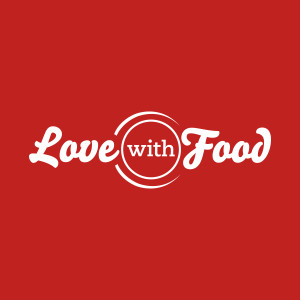 love with food logo