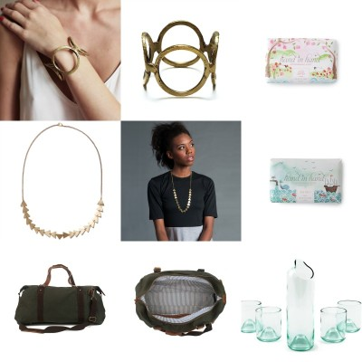 Some of Given Goods Company's most popular products for women.