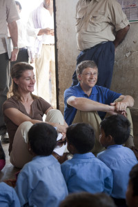Bill and Melinda Gates: Debunking Myths Around Global Poverty