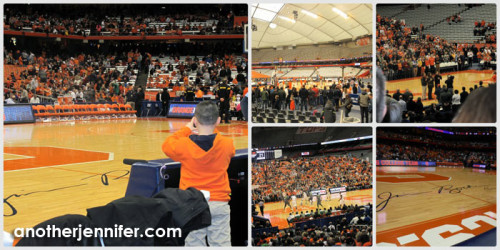 G was really excited to get so close to the Orange and to take pictures around the dome.