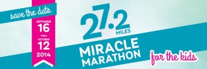 Philanthropy Friday: Join Me in the #MiracleMarathon