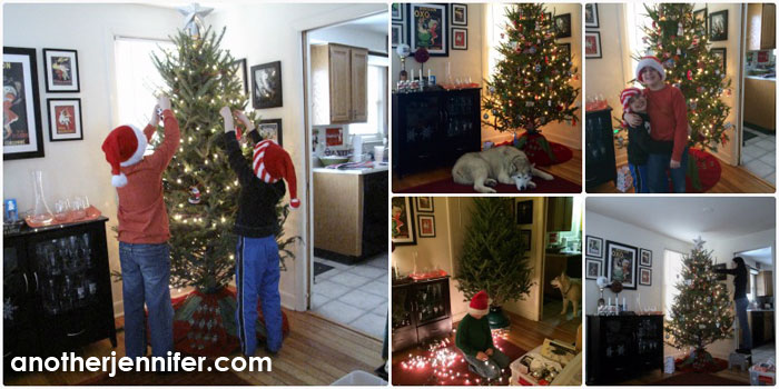 Wordless Wednesday (12.17.14): Trimming the Tree
