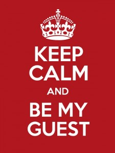 Be My Guest (Blogger) in January!