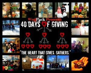 Philanthropy Friday: 40 Days of Giving at WolfPack Fitness