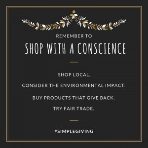 Wordless Wednesday: Shopping With a Conscience