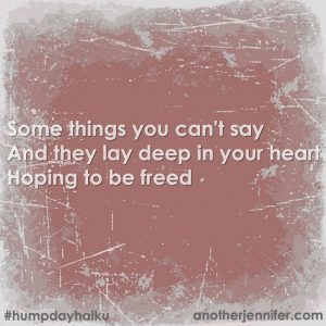 Hump Day Haiku: Things You Can't Say