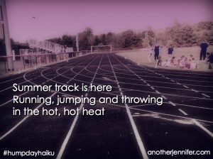 Hump Day Haiku: Summer Track is Here