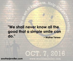 Philanthropy Friday: Don't Forget to Smile Today #WorldSmileDay