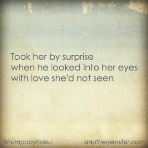 Hump Day Haiku: Took Her By Surprise