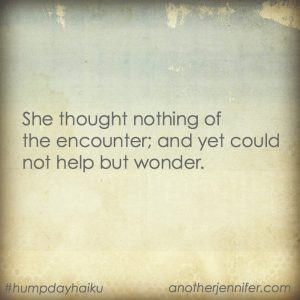 Hump Day Haiku: Wonder