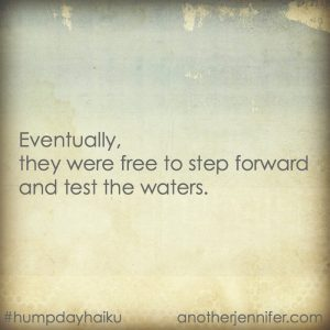 Hump Day Haiku: Test the Waters