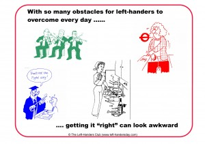 Happy International Left-Handers' Day!