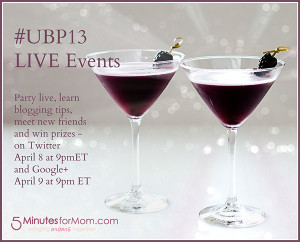 The Ultimate Blog Party #UBP13 + Win a Coaching Session with Me!