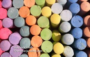 Wordless Wednesday: Sidewalk Chalk