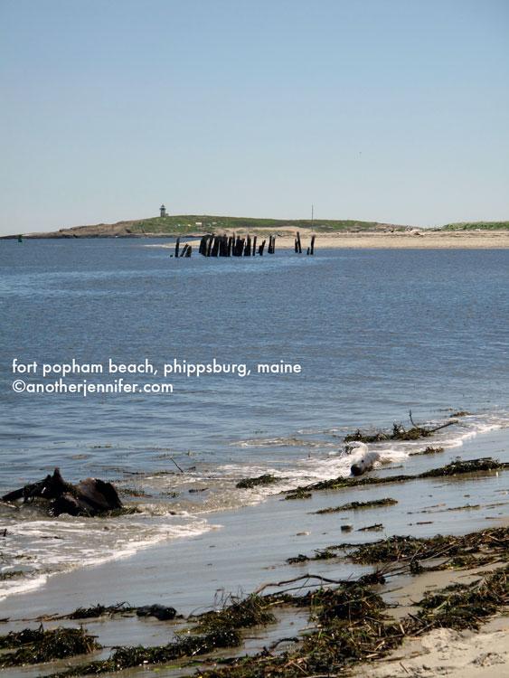 fort popham beach