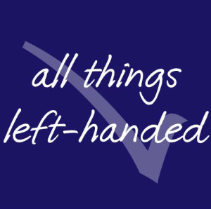 Celebrating International Left Handers' Day with All Things Left-Handed!
