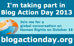 Blog Action Day 2013: Human Rights Stories