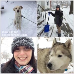 Wordless Wednesday: Snow Day Fun