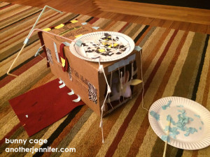 Wordless Wednesday: Bunny Cage