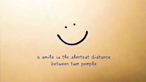 a-smile-is-the-shortest-distancebetween-two-people