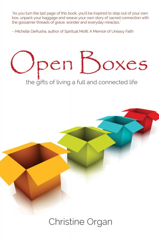 Open Boxes book cover