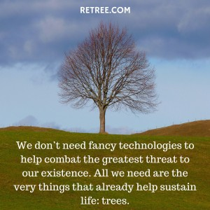 Philanthropy Friday: Help Reverse Climate Change With Retree