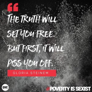 Recognizing #PovertyIsSexist on International Women's Day #IWD2016