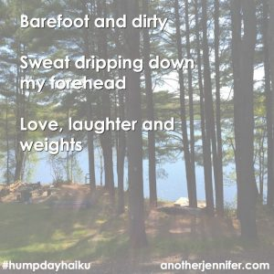 Hump Day Haiku: Love, Laughter and Weights