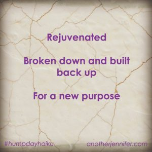 Hump Day Haiku: Rejuvenated