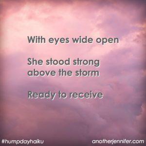 Hump Day Haiku: Eyes Wide Open