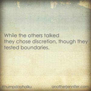 Hump Day Haiku: The Others Talked