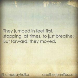 Hump Day Haiku: Feet First