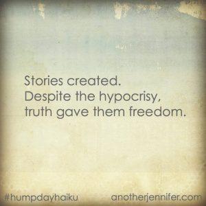 Hump Day Haiku: Stories Created