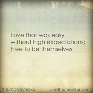 Hump Day Haiku: Love That Was Easy